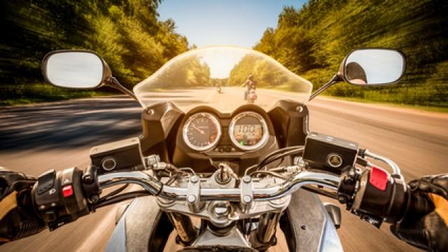Teilschuld für Biker